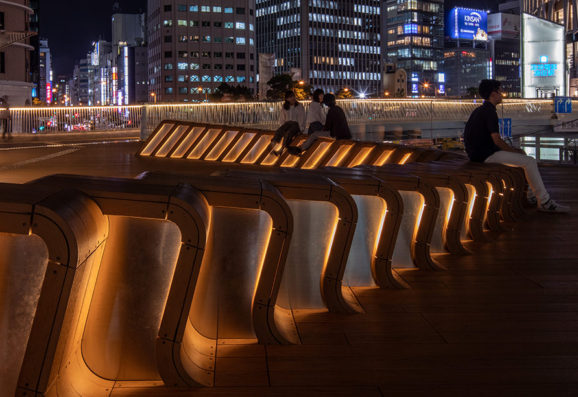 Umeda new pedestrian bridge