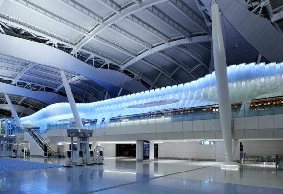 HANEDA AIRPORT T2 INTERNATIONAL FLIGHT