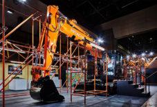 i-Construction推進展 日立建機ブース