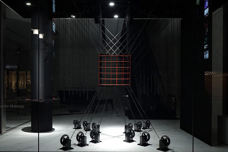Rediscover a cube(資生堂銀座ビル)